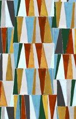 0.41mtr Remnant - Makower - Geometric - Triangles
