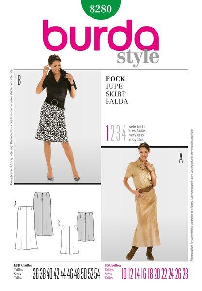 Burda Sewing Pattern - 8280