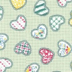 Funky Hearts - Green