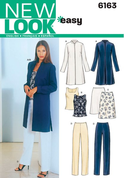 New Look Sewing Pattern 6163