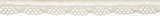 Cotton Lace: 5m x 12mm: Cream