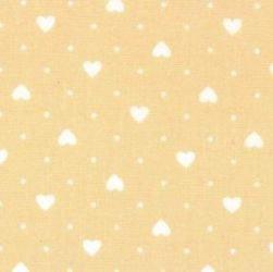 Mini Hearts - Tan