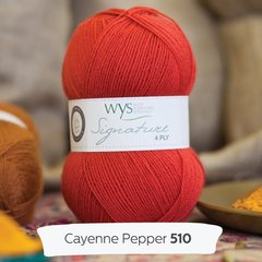 West Yorkshire Spinners - Signature 4ply - Cayenne Pepper
