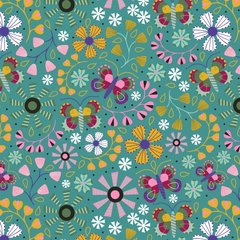 Blank Quilting - Daydream - Floral Allover