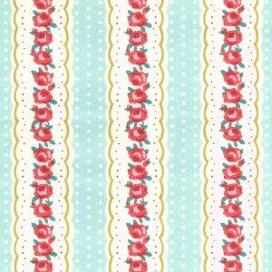 Floral Line - Mint