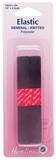 General Purpose Knitted Elastic: Black - 2m x 12mm