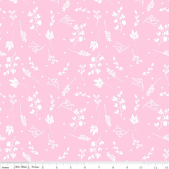 0.55mtr Remnant - Riley Blake - Floriography - Branches - Pink