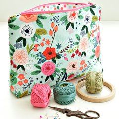 10th February - Sewing Workshop - Zipped make-up/toiletries/project bag – Saturday