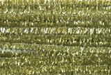 Glitter Chenilles 30cm x 6mm Gold