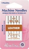 Leather Machine Needles - Medium 90/14