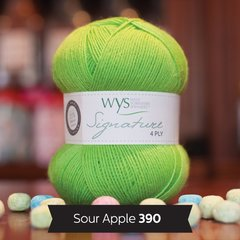 West Yorkshire Spinners - Signature 4ply - Sour Apple