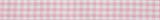 Gingham Ribbon : 5m x 15mm: Pink