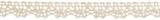 Cotton Lace: 5m x 10mm: Cream