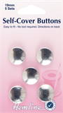 Self Cover Buttons - 19mm (Metal)