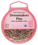 Dressmaker Pins: Nickel: 26mm, 310pcs