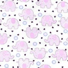 Baby Elephants - Pink