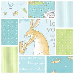 Clothworks - Guess How Much I Love You - Complete Pack Blue (10)