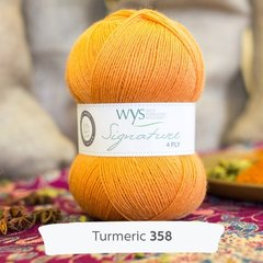 West Yorkshire Spinners - Signature 4ply - Turmeric
