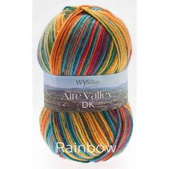 West Yorkshire Spinners - Aire Valley DK - Rainbow