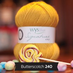 West Yorkshire Spinners - Signature 4ply - Butterscotch