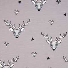 Stag Grey Jersey