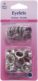 Eyelets Refill Pack: Nickel/Silver - 10.5mm