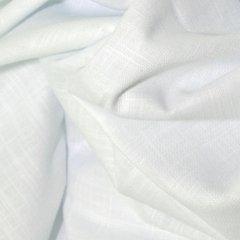 Linen Look Cotton - White