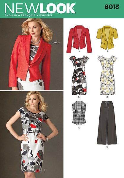 New Look Sewing Pattern 6013