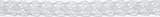 Cotton Lace: 5m x 10mm: White