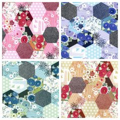 Hexi Patchwork Complete Pack (4)