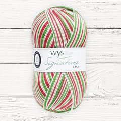 * West Yorkshire Spinners - Signature 4ply - Candy Cane - Limited Edition