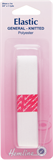 General Purpose Knitted Elastic: White - 1m x 20mm