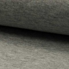 0.71mtr Remnant - Rib Cuff - Light Grey Melange