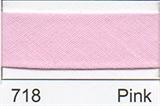 25mm Bias Binding - Pink