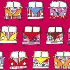 Driving Campervans - Cerise