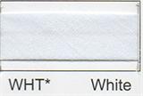 25mm Bias Binding - White
