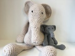 Crochet Workshop - Amigurumi Elephant (6 sessions)
