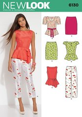 New Look Sewing Pattern 6130