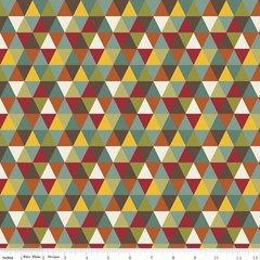 0.49mtr Remnant - Riley Blake - Giraffe Crossing 2 - Diamond - Multi