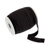 Fold Over Elastic: 16mm: Black