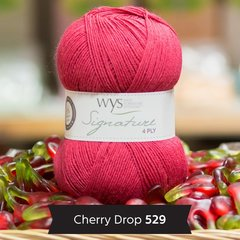 West Yorkshire Spinners - Signature 4ply - Cherry Drop