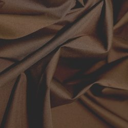 Polyester Cotton - Brown