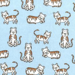 Michael Miller - Baby Zoo - Tiger Tikes