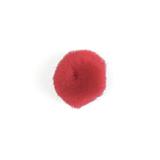 Pom Poms: 2.5cm (1in): Red