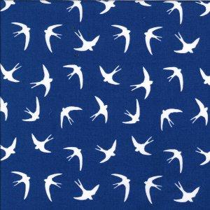 Swallows - Royal Blue