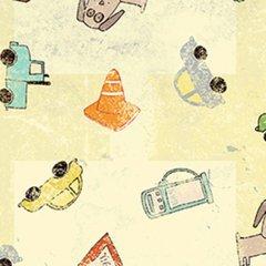 Clothworks - Road Trip - Cream