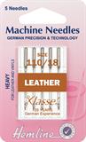 Leather Machine Needles - Heavy 110/18