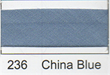 25mm Bias Binding - China Blue