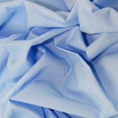Polyester Cotton - Pale Blue