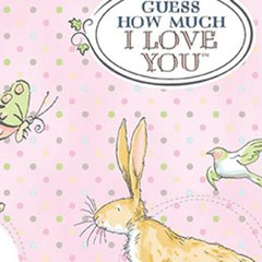 Clothworks - Guess How Much I Love You - Main - Pink